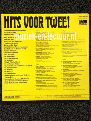 24 populaire NL duo's zingen en spelen hun grootste successen