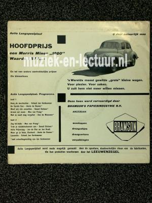 Actie langspeelplaat tbv Prins Bernhard Stichting