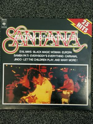 The sound of Santana, 25 Santana greatest