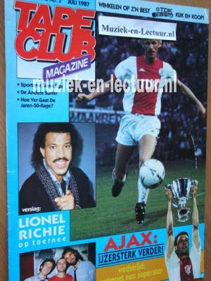 Tape Club Magazine 1987, nr.03