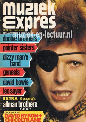 Muziek Expres 1974, april