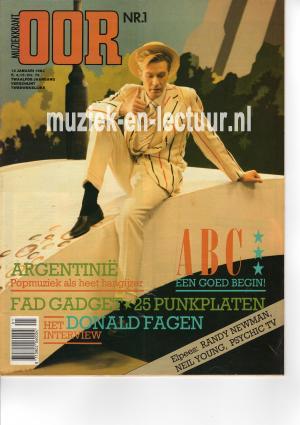 Muziekkrant Oor 1983 nr. 01