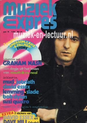 Muziek Expres 1974, juni