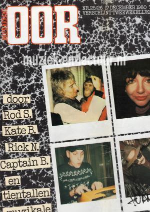 Muziekkrant Oor 1980 nr. 25/26