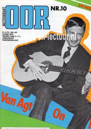 Muziekkrant Oor 1981 nr. 10