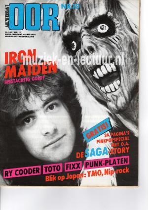 Muziekkrant Oor 1982 nr. 10