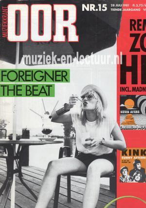 Muziekkrant Oor 1981 nr. 15
