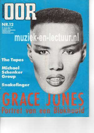 Muziekkrant Oor 1981 nr. 12