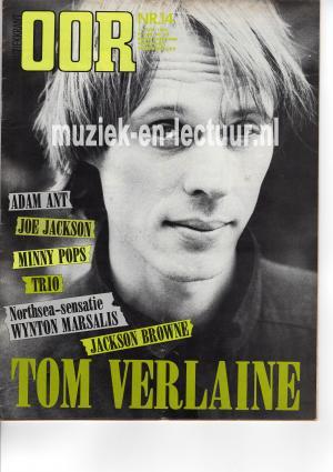 Muziekkrant Oor 1982 nr. 14