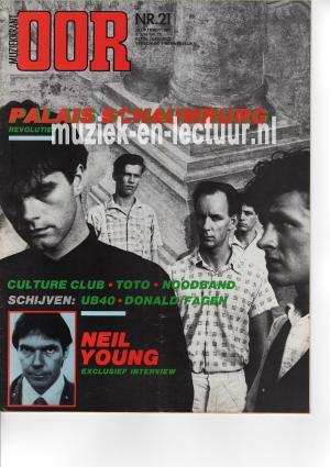 Muziekkrant Oor 1982 nr. 21
