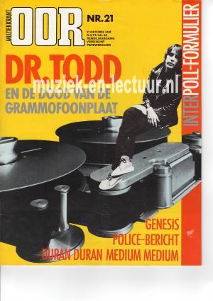 Muziekkrant Oor 1981 nr. 21