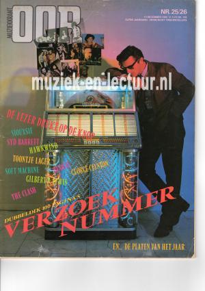 Muziekkrant Oor 1982 nr. 25/26