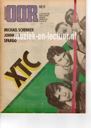 Muziekkrant Oor 1980 nr. 19