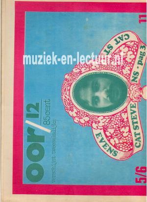 Muziekkrant Oor 1971 nr. 12