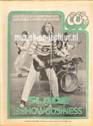 Muziekkrant Oor 1972 nr. 10