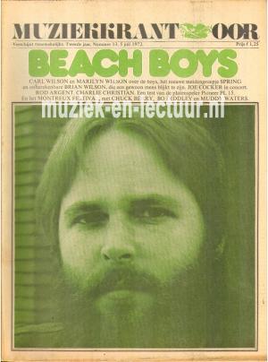 Muziekkrant Oor 1972 nr. 13