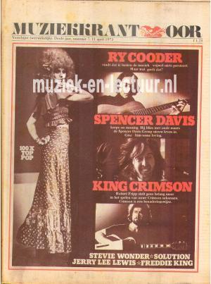 Muziekkrant Oor 1973 nr. 07