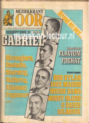 Muziekkrant Oor 1978 nr. 13
