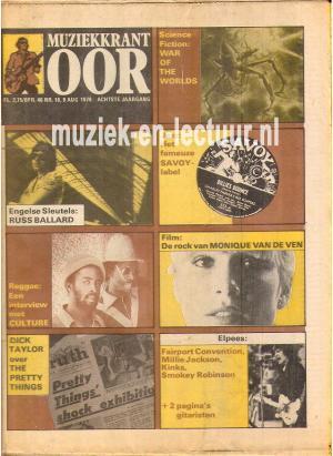 Muziekkrant Oor 1978 nr. 16