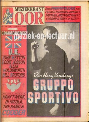 Muziekkrant Oor 1978 nr. 09