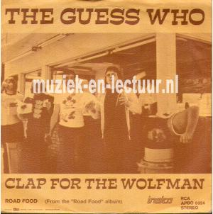 Clap for the wolfman - Road food