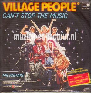 Can't stop the music - Milkshake