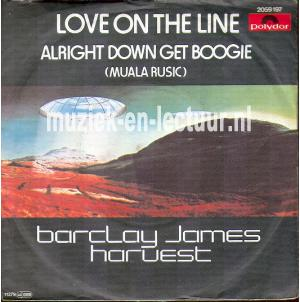 Love on the line - Alright down get boogie