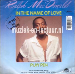In the name of love - Play pen