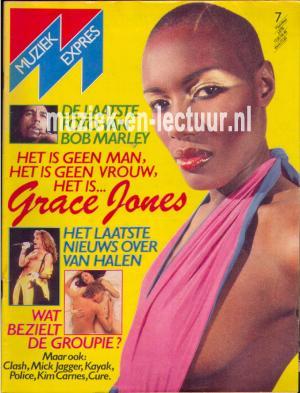 Muziek Expres 1981, juli
