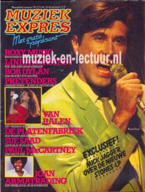Muziek Expres 1980, augustus