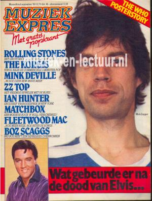 Muziek Expres 1980, september