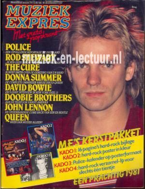 Muziek Expres 1981, januari
