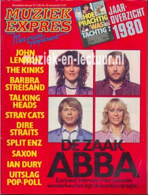 Muziek Expres 1981, febuari