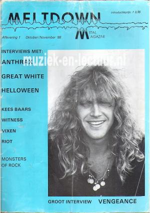 Melt Down 1988 nr. 01