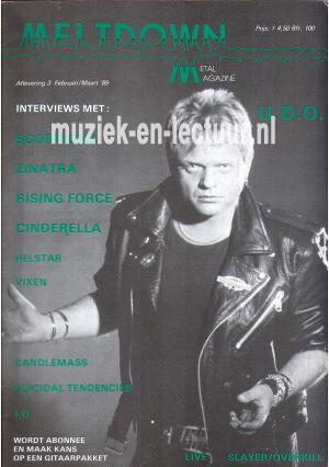 Melt Down 1989 nr. 03