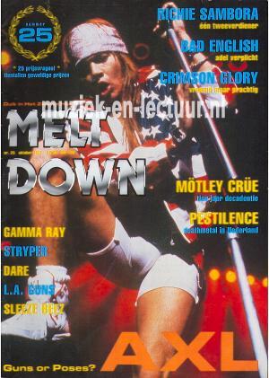 Melt Down 1991 nr. 25
