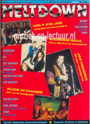 Melt Down 1992/1993 nr. 36/37
