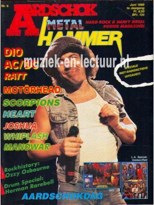 Metal Hammer & Aardschok 1986 nr. 06