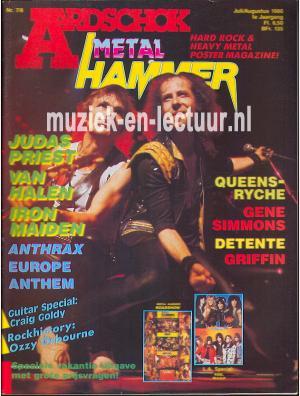 Metal Hammer & Aardschok 1986 nr. 07/ 08