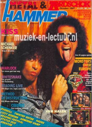 Metal Hammer & Aardschok 1987 nr. 10