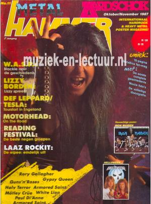 Metal Hammer & Aardschok 1987 nr. 11