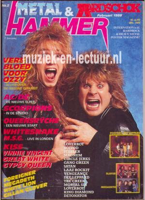 Metal Hammer & Aardschok 1988 nr. 02