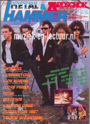 Metal Hammer & Aardschok 1988 nr. 04