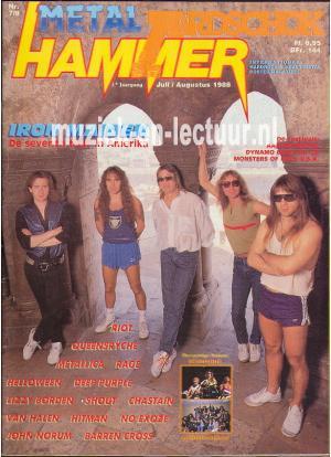 Metal Hammer & Aardschok 1988 nr. 07 / 08