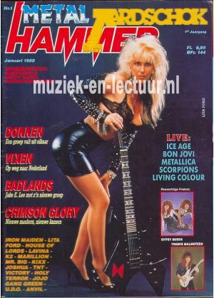Metal Hammer & Aardschok 1989 nr. 01