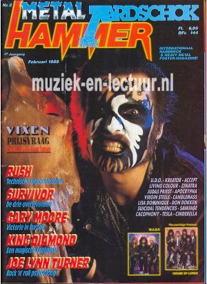 Metal Hammer & Aardschok 1989 nr. 02