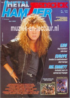 Metal Hammer & Aardschok 1989 nr. 05