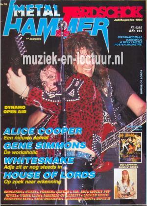 Metal Hammer & Aardschok 1989 nr. 07 / 08