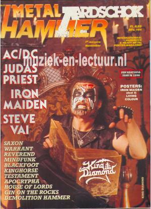 Metal Hammer & Aardschok 1990 nr. 11