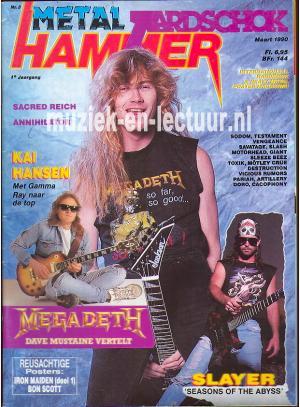 Metal Hammer & Aardschok 1990 nr. 03